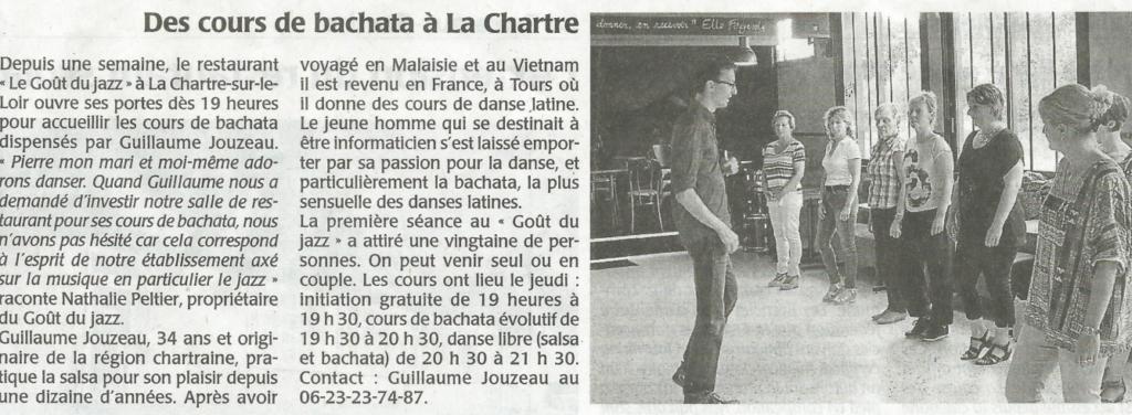 La presse en parle : articles et interviews sur la Bachata à Tours 6