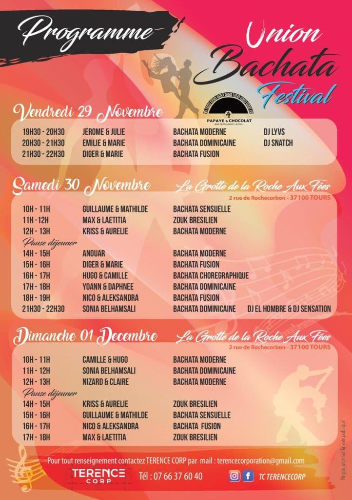Union Bachata Festival : le premier festival de Bachata à Tours 2